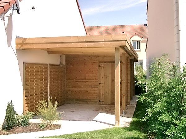 Carports bois jardins - Carport abris de jardin ...