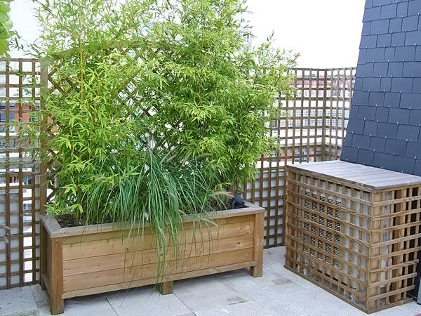 Bacs am nagements d 39 ext rieur bois jardins - Bac en bois jardin ...