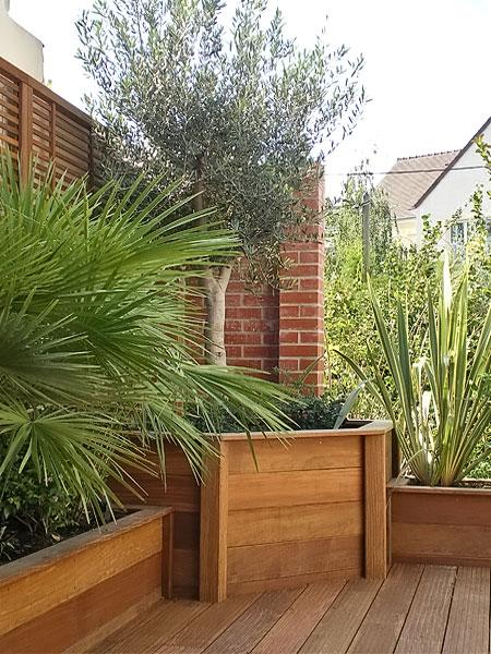 Aménagement de terrasse  Bois & Jardins